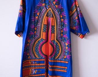 African Vibrance Collection: Dashiki Hoodie