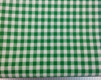Gingham Check Print - 100% Cotton Fabric - Sold by the Yard