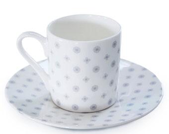 Charlotte Chintz Espresso Cup & Saucer
