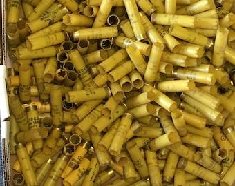 Shotgun shells, bag of 300 used 20 gauge shells