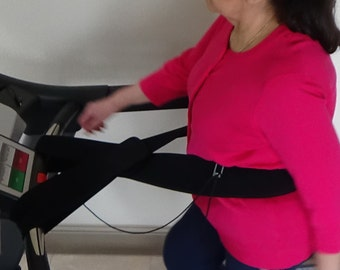 Connect Me Tight™ - Treadmill personal safety waist belt/band
