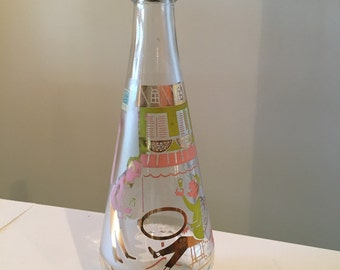 Mid Century Arrow Vodka Bottle