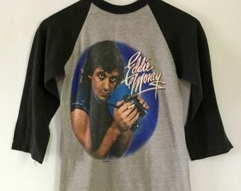 1983-84 Eddie Money Where's The Party Tour Concert Rock Tee Shirt
