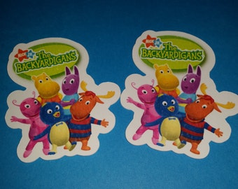 Backyardigans candy filled cups