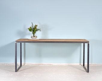 Solid Wood & Steel | upcycling Dining Table Kerkrade
