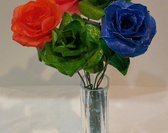 Paper Flowers, Flowers, Paper Flowers by PapierBouquet, Paper Bouquet