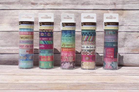 Recollections Marble, Pastel, or Boho Washi from Michaels Sealed Package