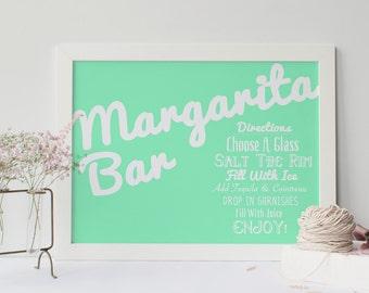 Margarita Bar Sign || Professional Print