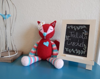 Red Crochet Fox-Foxie