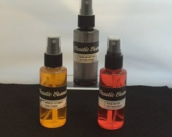 All natural makeup setting sprays