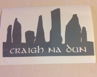 Outlander Craigh na Dun Standing Stones - Vinyl Decal Sticker