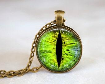 Dragon Eye II Handmade Pendant Necklace