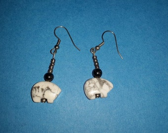 Polarbear Love Earrings