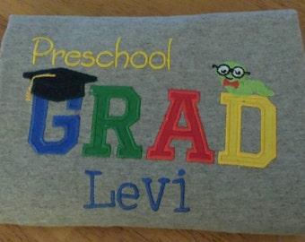 Preschool graduation t shirt.