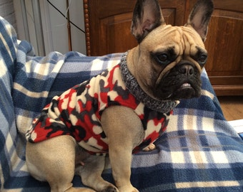 french bulldog jacket french bulldog coat etsy 3355