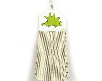 hedgehog nappy stacker