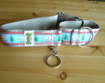 "Camper Jacquard Ribbon Martingale Collar 1.5"" Wide"