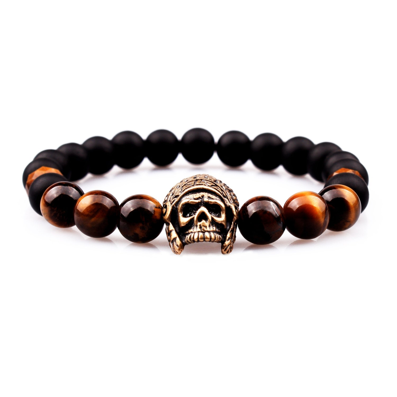 mens bracelet injun bracelet tiger eye bracelet onyx