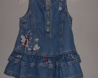 Reduced, Baby Dress, Blue Denim Dress, Baby Pinafore Dress, Next Baby Dress, Infant Dress, Baby Clothing, Next Clothing, 3 Months