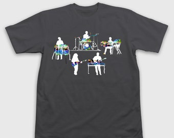 STS9 Silhouette- T-Shirt(Gray)