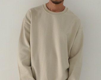 Oversized Sweatshirt Sand