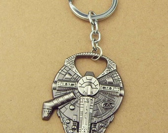 Star Wars - Millennium Falcon - Bottle Opener/Keychain (read entire listing before ordering)