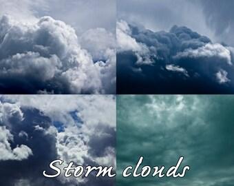 Storm cloud Overlays