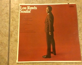 "Lou Rawls ""Soulin'"" Record"