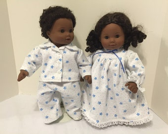 Bitty Baby or Bitty Twins pajamas and nightgown