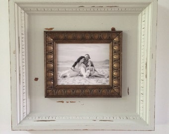 8x10 rustic picture frame shadow box.