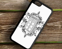 Tardis Drawing case for iPhone case, Samsung Galaxy Case, iPod Case, HTC Case, Sony Xperia Case