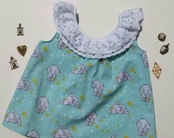Disney Dumbo Sundress with Ruffle Collar