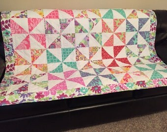 Pinwheel Quilt - ON SALE