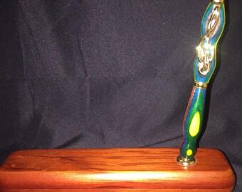 Rosewood Display Pen Box