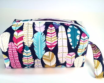 Featherweight- Cosmetic Bag, Makeup Bag, Travel Bag, Box Pouch