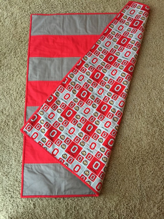 Ohio State Baby Toddler Quilt