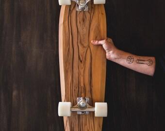 Rollholz individual wooden skateboard