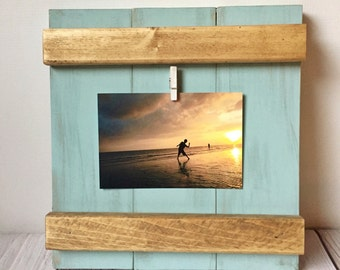 Rustic Frame - Picture Frame - Rustic Home Decor - Farmhouse Decor - Wood Frame - Rustic Decor - Rustic Picture Frame - Housewarming Gift