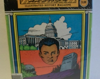 1983 The Life Of Benjamin Banneker Golden Legacy Black History Comic G-VG Condition