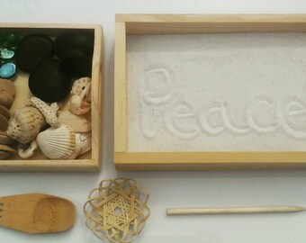 Montessori, Waldorf, Reggio Emilia, Zen Garden, Peace Table
