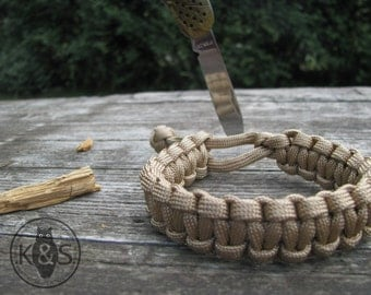 Mad Max style Paracord550 Bracelet