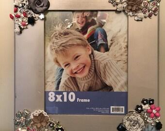 8 x 10 Embellished photo frame