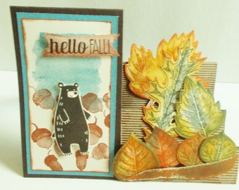 WELCOME FALL CARD