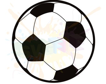 Soccer Ball SVG Files for Cutting Football Sports Cricut - SVG Files for Silhouette - Instant Download