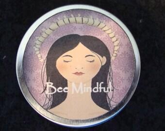 Bee Mindful Solid Perfume, Perfume, Solid Perfume, Organic Perfume, Essential Oils, Handcrafted Perfume