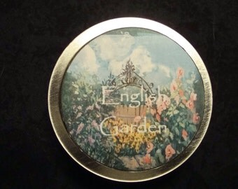 English Garden Solid Perfume, Perfume, Solid Perfume, Lavender Essential Oil, Rose Essential Oils