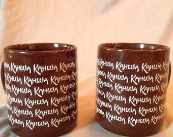 Vintage Kahlua Mugs