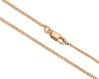 16Inch Necklace Curb Chain With Lobster Claw Clasp 2 Chain