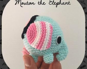 Mouton The Elephant Sentimental Circus Amigurumi