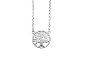 Sterling Silver Tree Of Life Necklace. Tree of Life necklace. Tree of Life necklace. Silver tree necklace - Delicate necklace